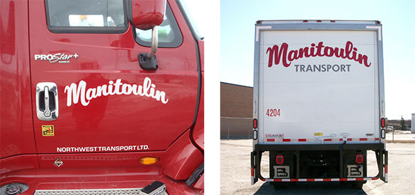 Fleet Lettering and Logos