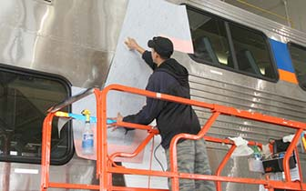 Transit Car Vinyl Graphics