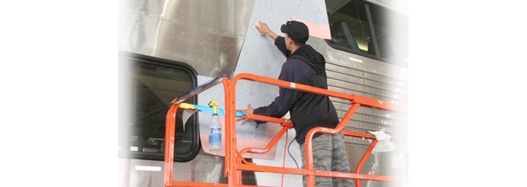 Rail Car Graphics Installations
