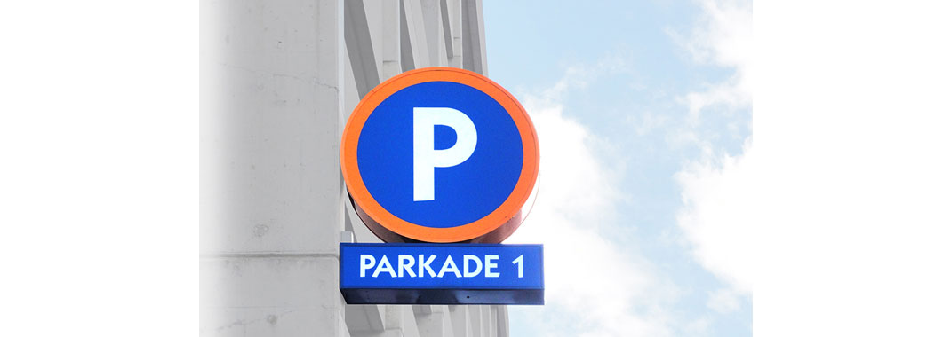 Parking Lightbox Sign