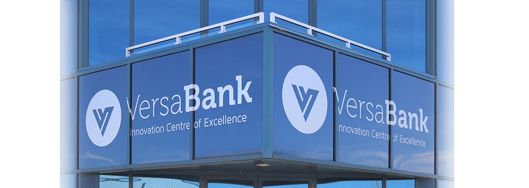 Exterior Window Graphics for Bank