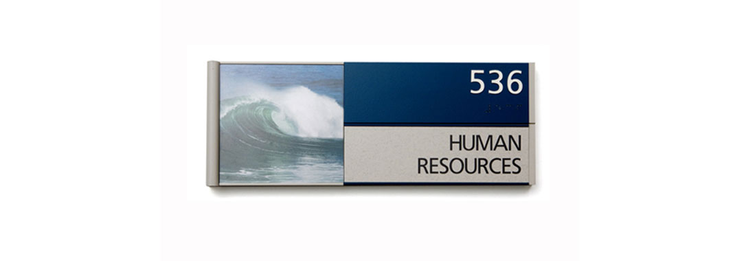 Human Resources Flat Wayfinding Systems
