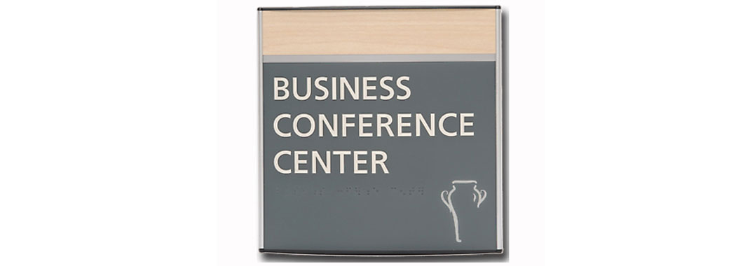 Business Conference Flat Wayfinding Systems