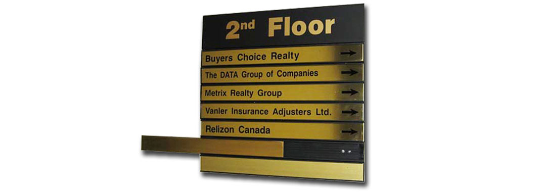 Directory Flat Wayfinding Systems