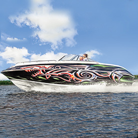 Custom Graphics for Boats