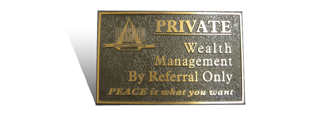 Cast Bronze Plaques Corporate
