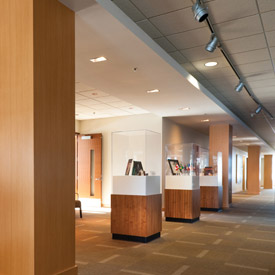 DI-NOC Wood Finishes for an Office
