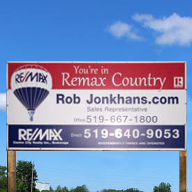 Real Estate & Lawn Signs