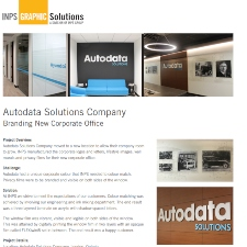Branding New Corporate office for Autodata Solutions Company