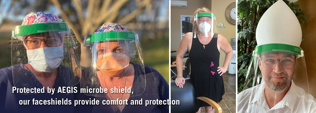 Face Shields - Personal Protective Equipment (PPE)