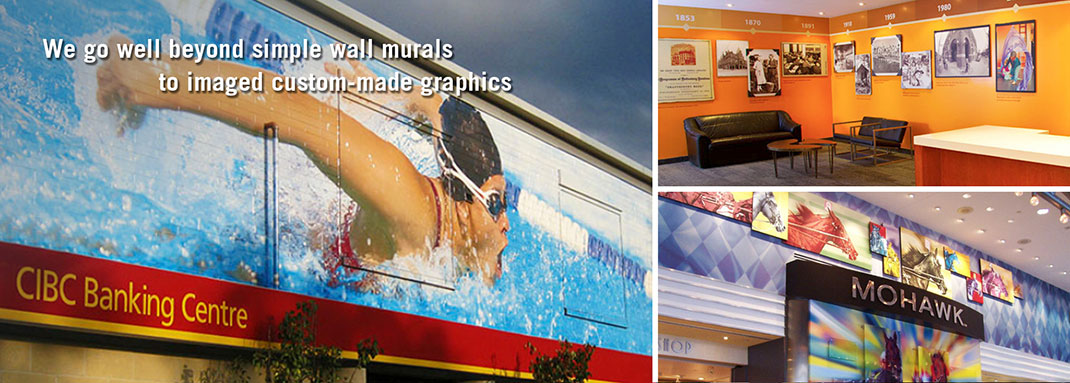 Corporate Office and Retail Graphics and Installation by INPS Graphics