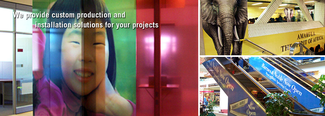 Creative Print Production and Installation by INPS Graphics