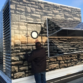 HVAC wrapping