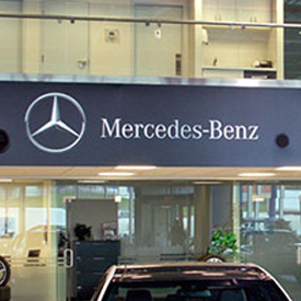 Mercedes-Benz Interior Graphics