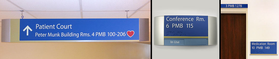 AODA Compliant and Adaptable Signage Solutions