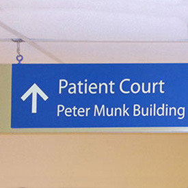 Peter Munk Building Interior Signage