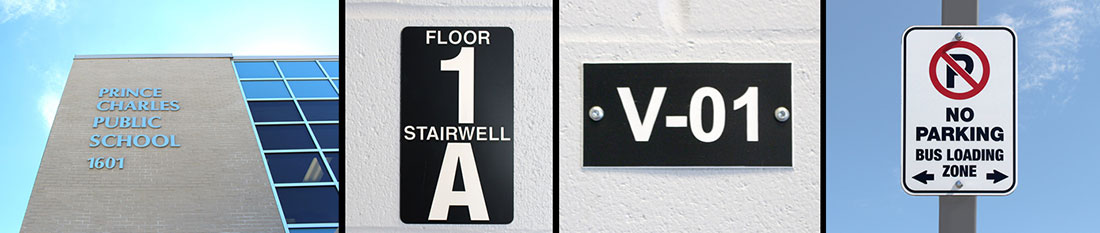Interior/Exterior School Board Signage