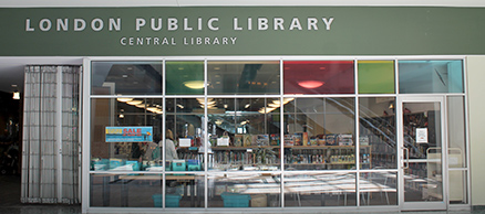 Custom Window Graphics at London's Central Library