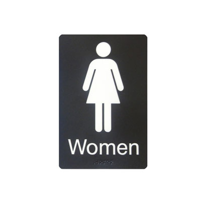 Women's Washroom By-Law Sign