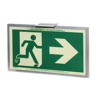 Single Sided Aluminum Frame Right w arrow By-Law Sign