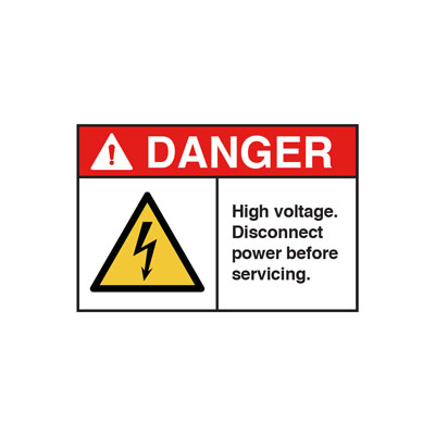 Danger Signs   ANSI Safety Signs   INPS Graphics