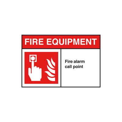 Fire Alarm ANSI Sign
