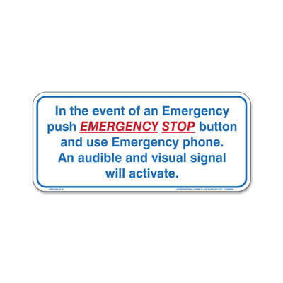 Spa - In Event of Emergency
