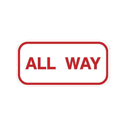 ALL-WAY Tab Sign