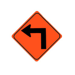 TURN (Left) Traffic Sign