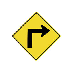 TURN Traffic Sign (Right)