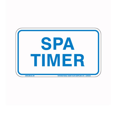 Spa Timer By-Law Sign