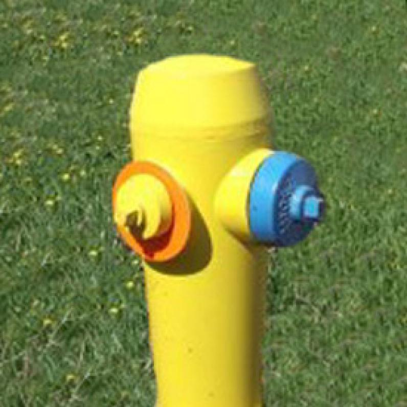 Fire Hydrant with markers