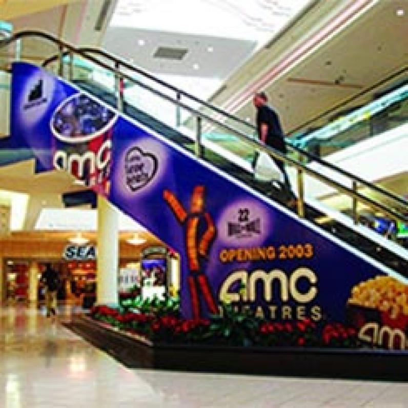 Creative Print for a shopping mall
