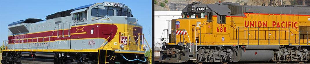 Custom Locomotive Graphics