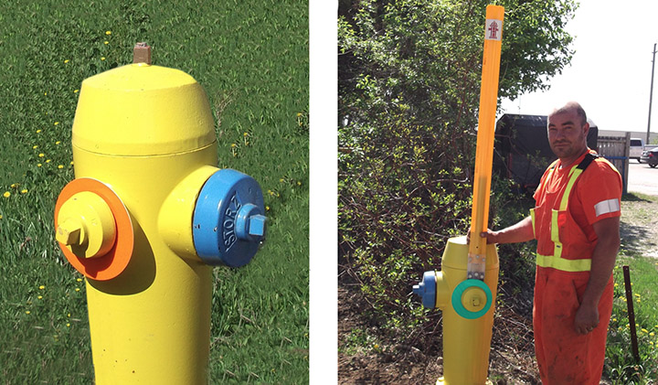 Fire Hydrant Posts & Markers