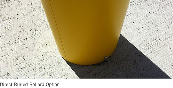 Direct Buried Bollard Option