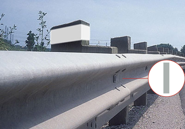 Guardrail Delineator Reflectors
