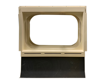 Fiberglass Window Freezes for Mass Transit Vehicles - INPS Transit